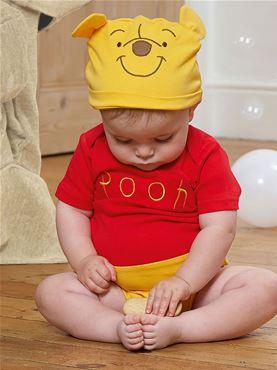 Baby Disney Winnie the Pooh Jersey Bodysuit