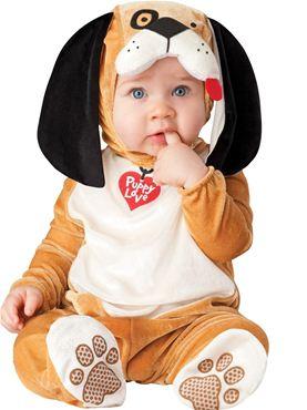 Baby Plush Puppy Love Costume