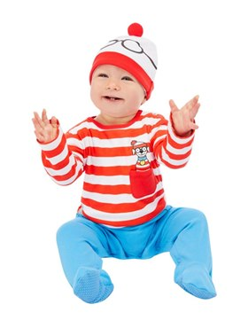 Baby Where's Wally Costume