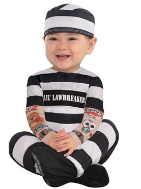 Baby Lil Law Breaker Costume