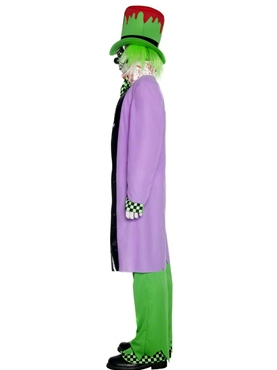 Adult Bad Hatter Costume - Back View