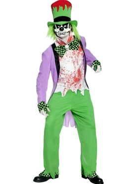 Adult Bad Hatter Costume