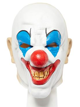 Bald Clown Full Head Mask