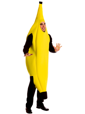 Adult Banana Deluxe Costume Couples Costume