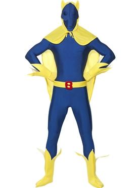 Adult Bananaman Second Skin Costume