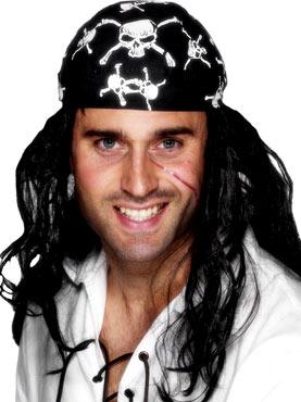 Pirate Bandana Black