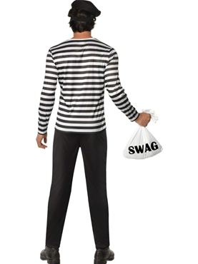 Adult Bank Robber Costume - Side View