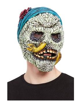 Barnacle Skull Pirate Overhead Mask