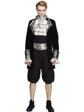 Adult Deluxe Baroque Mens Vampire Costume