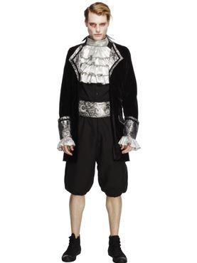 Adult Deluxe Baroque Mens Vampire Costume
