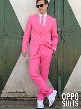 Adult Mr Pink Oppo Suit