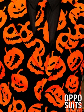 Adult Pumpking Oppo Suit - Side View