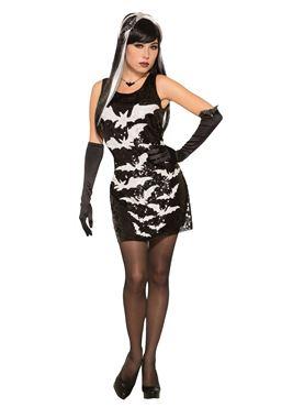 Bat Sequin Dress
