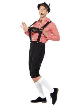 Bavarian Beer Guy Costume - Side View