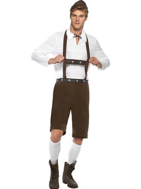 Adult Oktoberfest Bavarian Man Costume