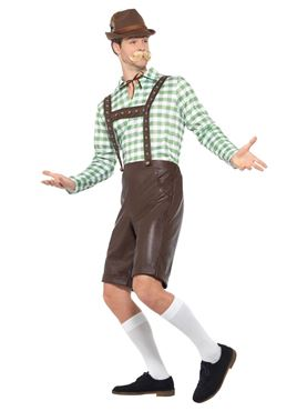 Bavarian Man Costume - Side View