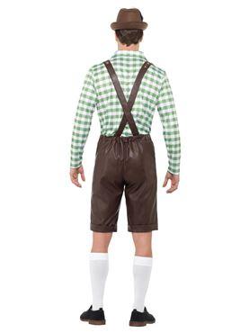 Bavarian Man Costume - Side View