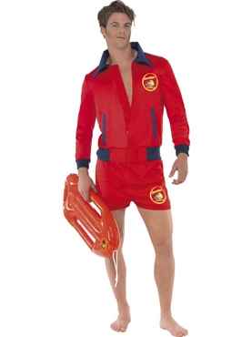 Adult Baywatch Lifeguard Costume