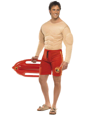 Baywatch Lifeguard Costume Couples Costume