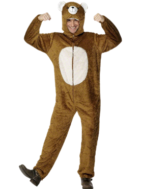 Adult Bear Costume Couples Costume