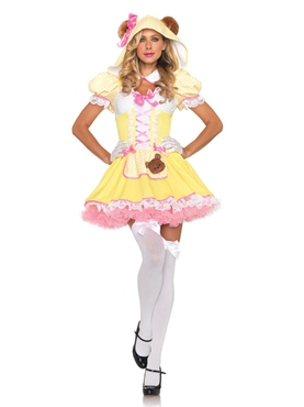 Adult Beary Cute Goldilocks Costume
