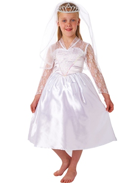 Child Beautiful Bride Costume