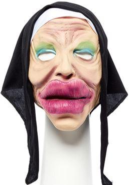 Bee Stung Nun Full Head Mask