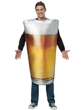 Adult Get Real Beer Pint Costume Thumbnail