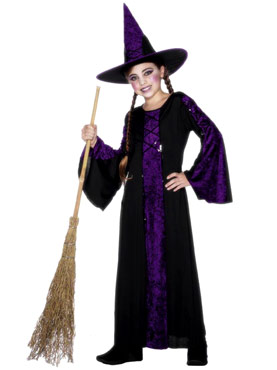 Bewitched Purple Childrens Costume