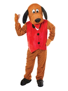 Adult Big Head Dog Costume