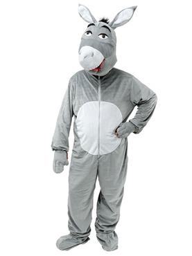 Adult Big Head Donkey Costume