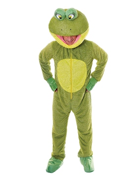 Adult Big Head Frog Costume