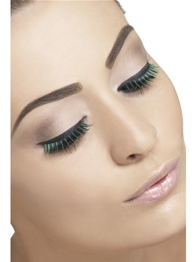 Black and Green Eyelashes