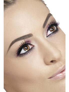 Black and Purple Eyelashes