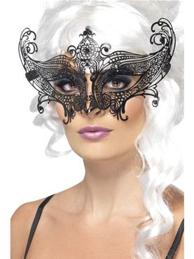Adult Farfalla Metal Filigree Eyemask