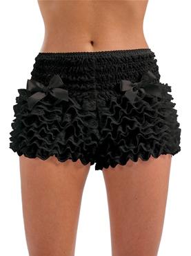 Adult Burlesque Black Bustle Pants