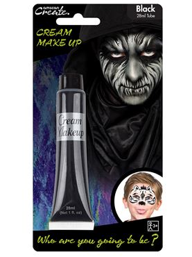 Black Cream Make Up Tube - 28ml