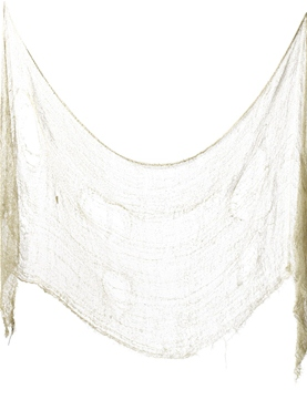Cream Creepy Cloth
