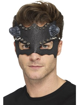 Black Devil Studded Eyemask