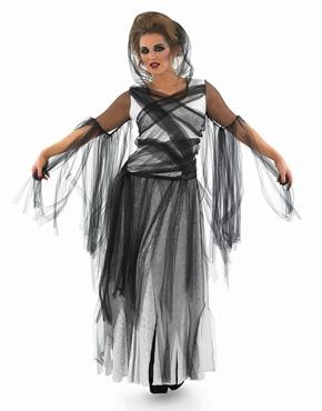 Adult Black Haunting Ghost Costume
