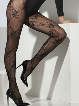 Black Lace Tights