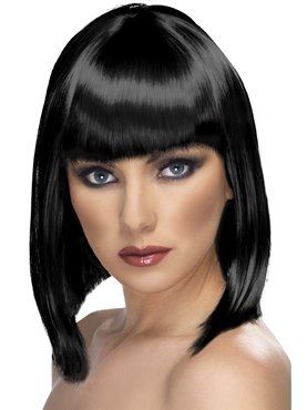Black Short Glam Wig