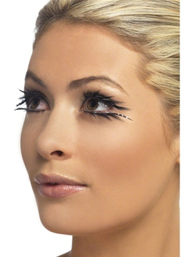 Black Sparkle Eyelashes
