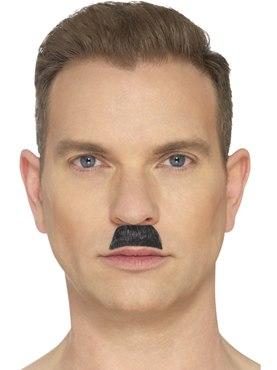 Black Toothbrush Moustache