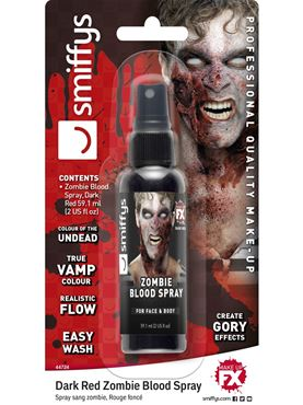 Black Zombie Blood Spray - 60ml