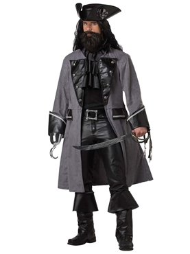 Blackbeard The Pirate Costume