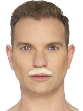 Blonde Chevron Moustache