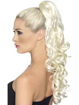 Blonde Divinity Clip On Hair Extension