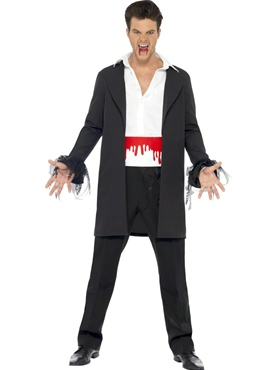 Blood Drip Vampire Costume