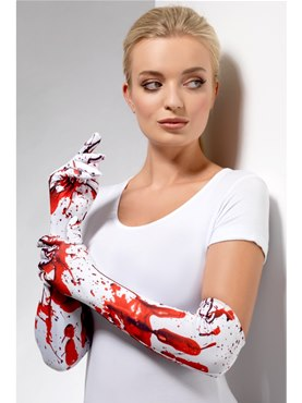 Blood Splatter Gloves